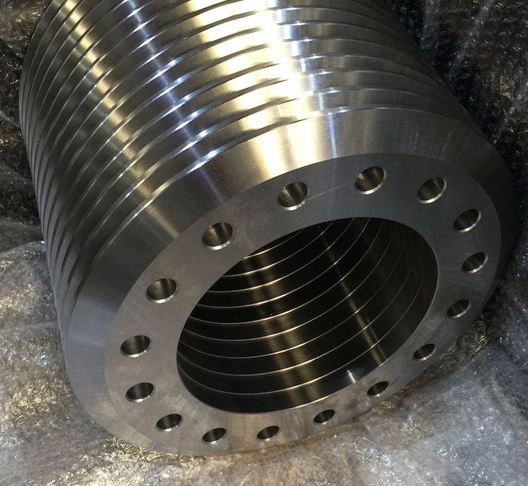 Flexibilidad en diámetros para torneado