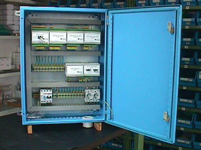 Panel de control númerico