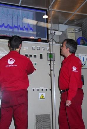 control de hornos para Tratamientos térmicos